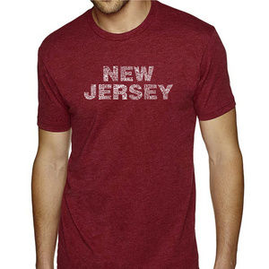 Premium Blend Word Art T-shirt - NEW JERSEY